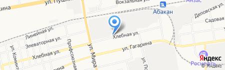 ОфисКомплект на карте Абакана