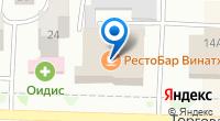 Компания Клин на карте