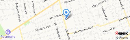 Абаканский завод каркасного домостроения на карте Абакана