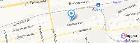 ТИТАН моторс Абакан на карте Абакана