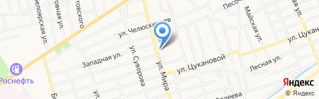 АбаканАвтоШина на карте Абакана