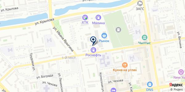 АЗК Роснефть на карте Абакане
