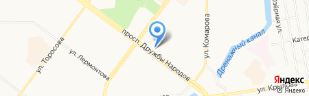 FreeDom на карте Абакана