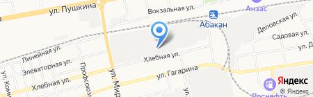 Оптово-розничный магазин бакалейных товаров на карте Абакана
