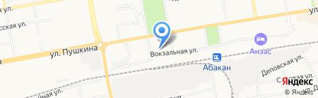 Форт на карте Абакана