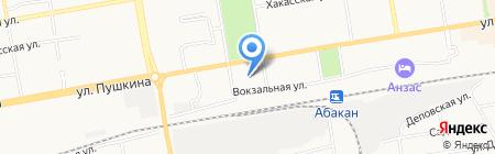 Сотрудничество на карте Абакана
