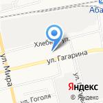 СтальСтройКомплект на карте Абакана