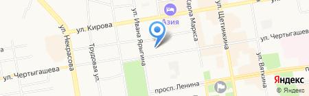 КЭВИН на карте Абакана