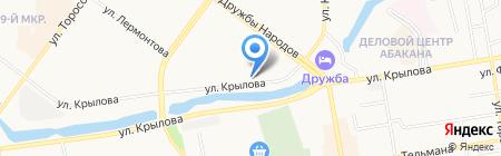 Власта Инвест на карте Абакана