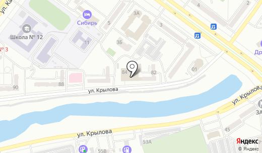 Банкомат Восточно-Сибирский банк Сбербанка России. Схема проезда в Абакане