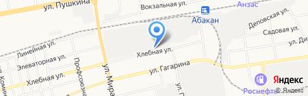 Промснаб на карте Абакана