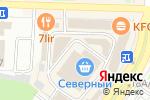 Схема проезда до компании ХозКомплект в Абакане