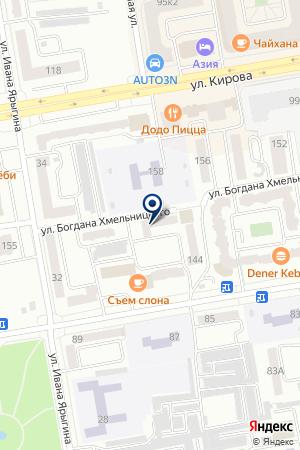 Центр занятости населения г. Абакана на карте Абакана