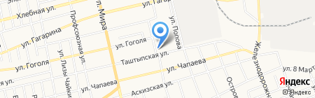 Добрый на карте Абакана