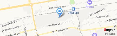 Главторг на карте Абакана