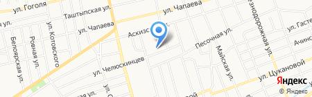 Средняя общеобразовательная школа №18 на карте Абакана