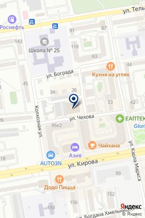Служба открывания дверей на карте Абакана