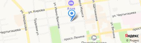 777 на карте Абакана