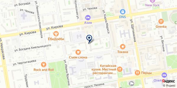 Участковый пункт полиции №4 на карте Абакане