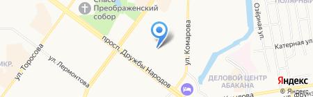 Сесиль на карте Абакана