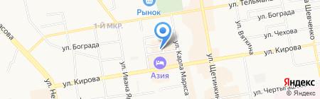 Третейский суд Хакасии на карте Абакана