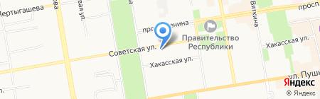 Агентство недвижимости на карте Абакана