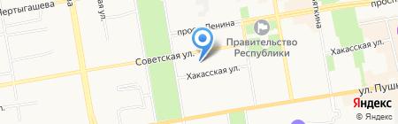 Заборторг-Сибирь на карте Абакана