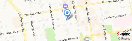 СДЭК на карте Абакана