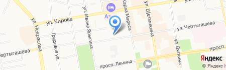 Информационно-юридическое жилищное агентство на карте Абакана