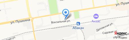 Идея на карте Абакана