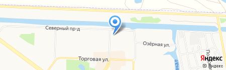 Страж на карте Абакана