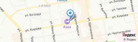 Иванов Н.В. на карте Абакана