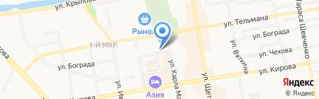 Восточно-Сибирский банк Сбербанка России на карте Абакана