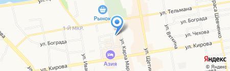 Нотариальная палата Республики Хакасия на карте Абакана