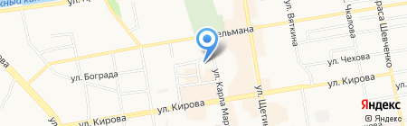 БФК-ЕНИСЕЙ на карте Абакана