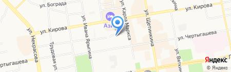 Вертикаль-М на карте Абакана