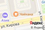 Схема проезда до компании Объединение Строителей Хакасии, НП в Абакане