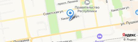 СибЕвроТранс на карте Абакана