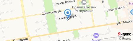 Независимое Информационное Агентство на карте Абакана