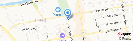 Управление жилищного и капитального строительства на карте Абакана