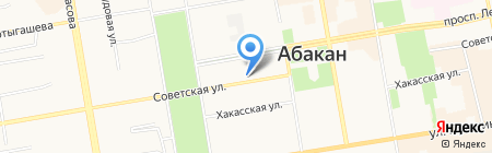Кабинет мануальной терапии на карте Абакана