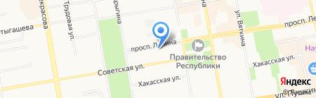 БигПринт на карте Абакана