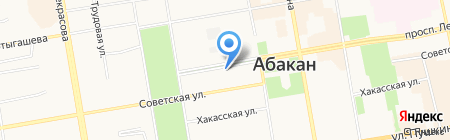 Traffik на карте Абакана