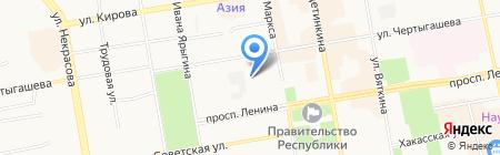 Альянс на карте Абакана