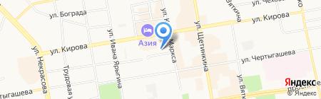 Софт-Альянс на карте Абакана