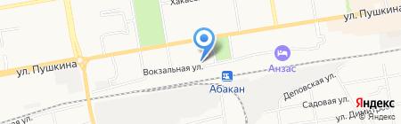 Благосостояние на карте Абакана