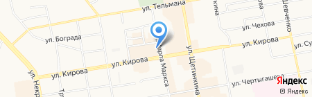 Агентство недвижимости Соколовой на карте Абакана