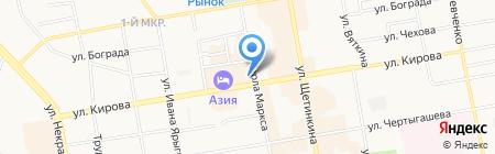 Сибтехстрой на карте Абакана