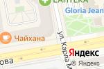 Схема проезда до компании Дизайн-бюро в Абакане