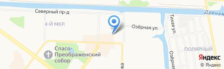 Всё на УАЗ на карте Абакана